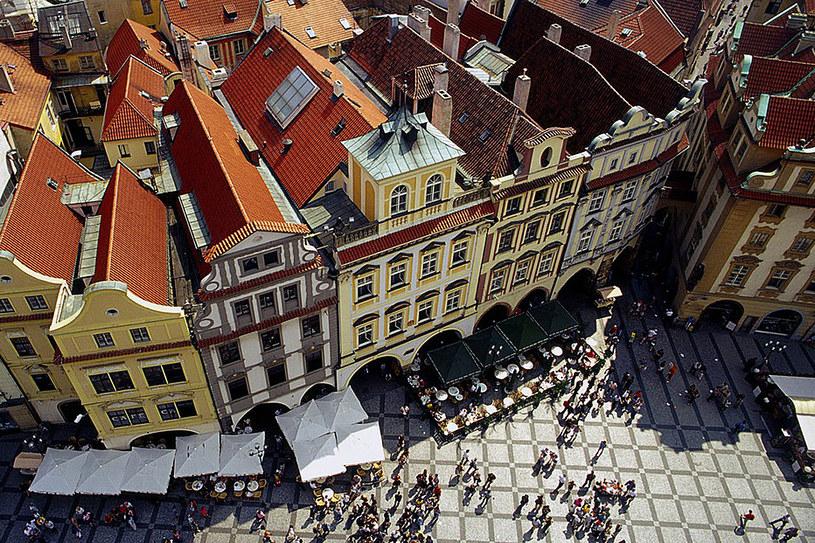 Stare Miasto, widok z góry /Wojciech Franus /Reporter