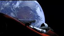 Starman i jego Tesla lecą na Marsa - widok na żywo