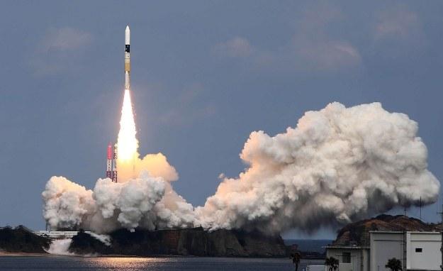 Start japońskiej rakiety H-IIA /AFP