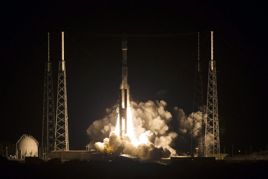 Start rakiety Atlas V /Aubrey Gemignani /PAP/EPA