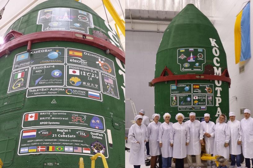 Start rakiety Dniepr z 37 satelitami /materiały prasowe