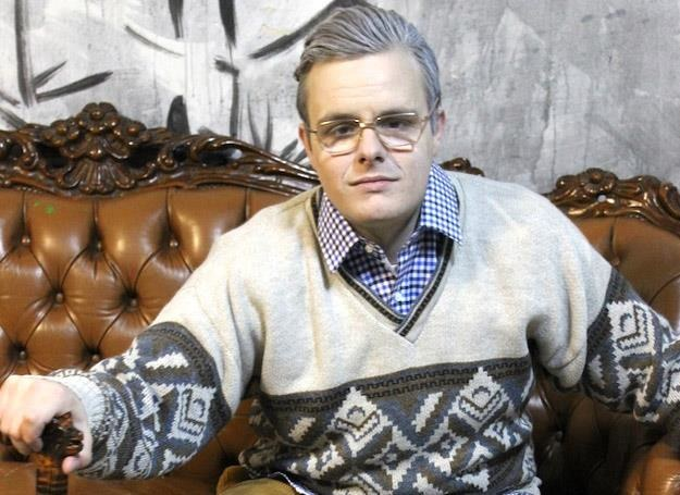 """""""Staruszek"""" Filip Mettler w teledysku """"Wiary ślad"""" - fot. www.beemusic.com.pl /"""