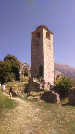 Stary Bar wieża zegarowa