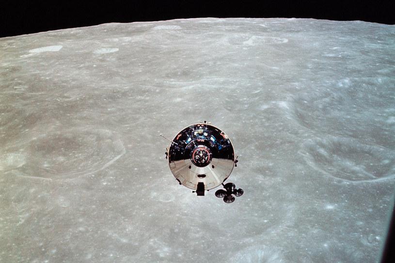 Statek Apollo 10 podczas misji w 1969 roku /AFP