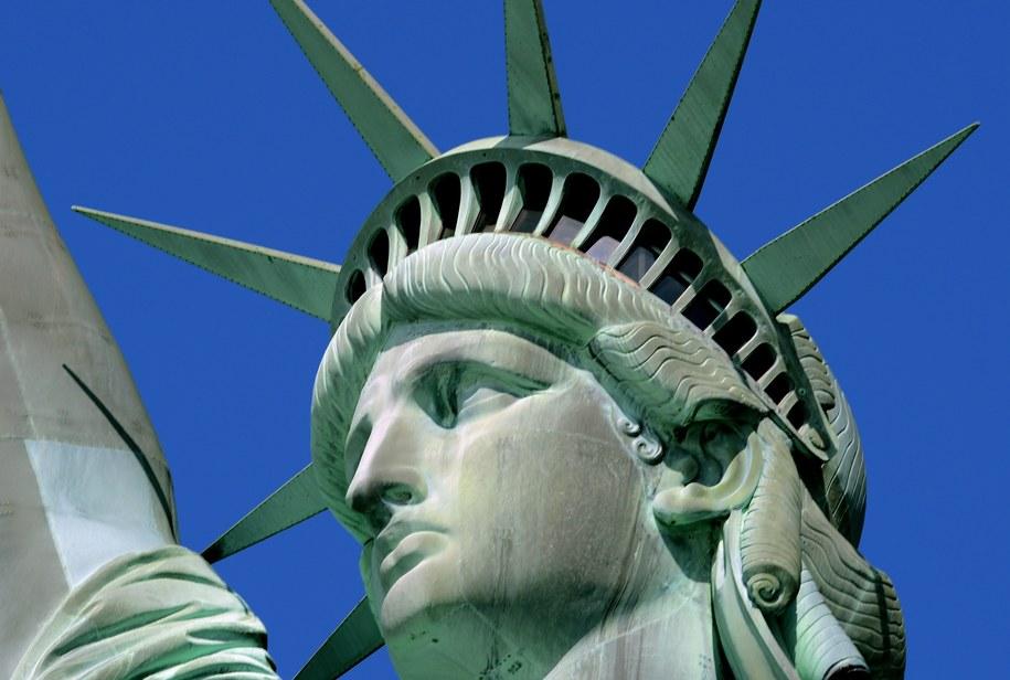 Statua Wolności była darem dla Amerykanów od narodu francuskiego /Peter Foley /PAP/EPA