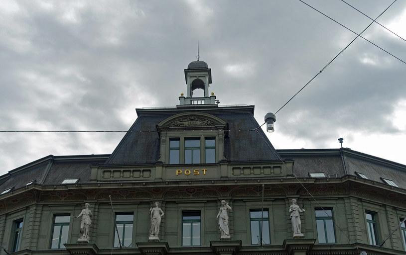 Statuy na budynku poczty w Lucernie /Agnieszka Łopatowska /Styl.pl