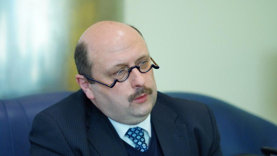 Stefan Hambura w redakcji RMF FM /Michał Dukaczewski /RMF FM