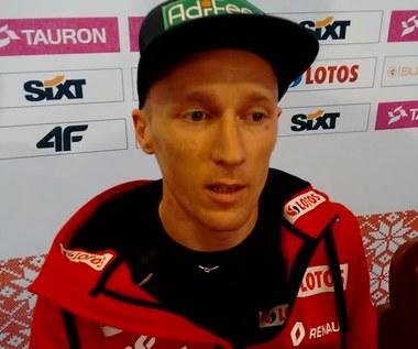 Stefan Hula przed startem Letniej Grand Prix w Wiśle