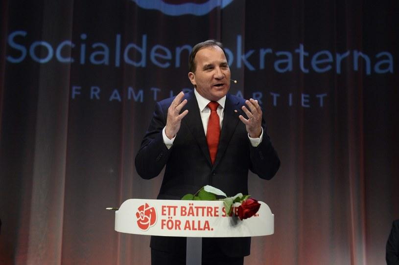 Stefan Loefven - kandydat na premiera /PAP/EPA