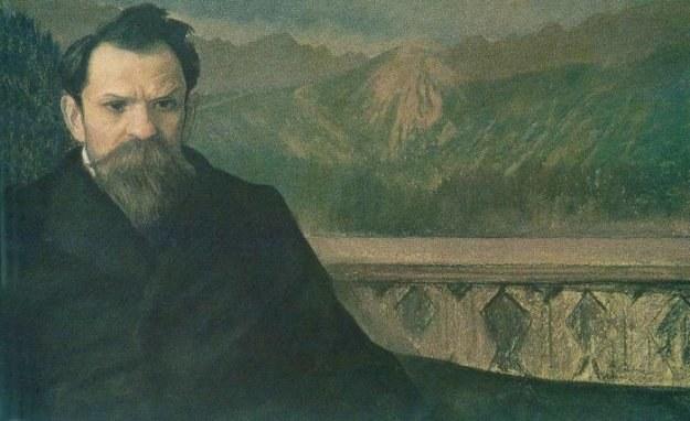 Stefan Żeromski na obrazie Leona Wyczółkowskiego, repr. FoKa /Agencja FORUM