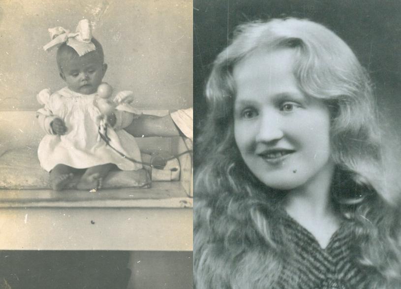 Stefania Romik i jej córka. /Muzeum Auschwitz /