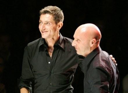 Stefano Gabbana i Domenico Dolce /AFP
