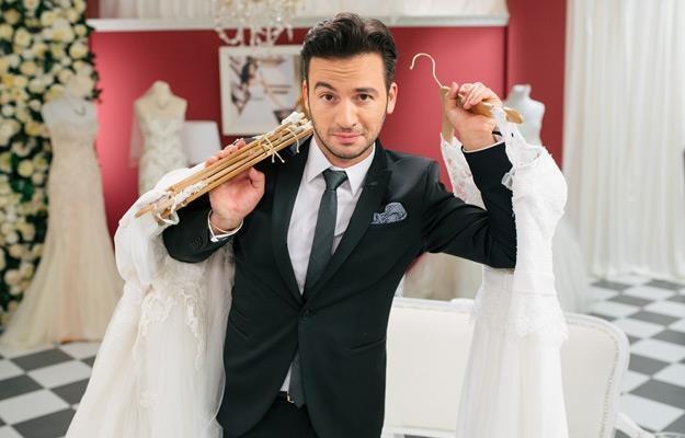 """Stefano Terrazzino w programie """"Salon sukien ślubnych"""" /materiały programowe"""