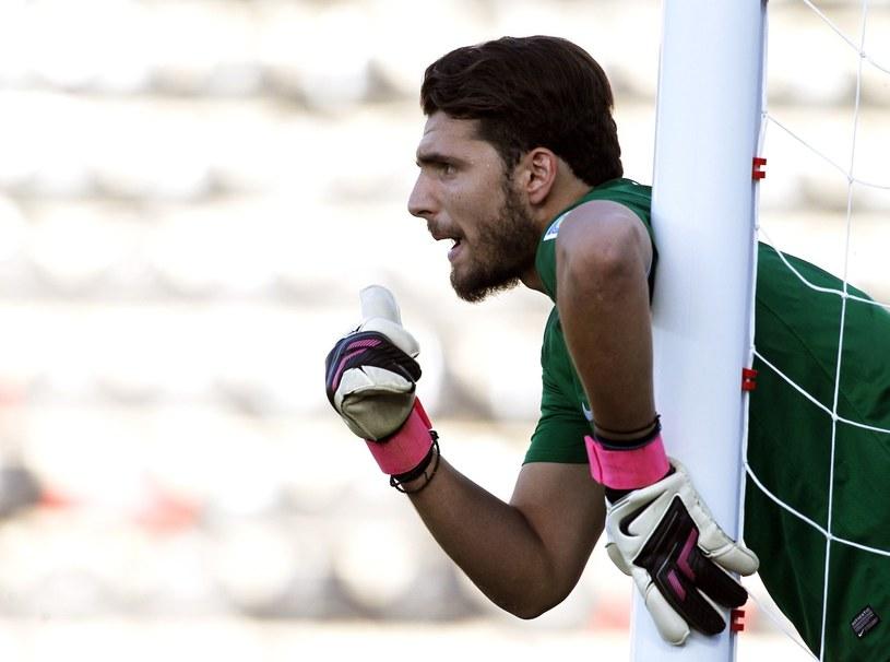 Stefanos Kapino, bramkarz Olympiakosu /AFP/INTERIA.PL