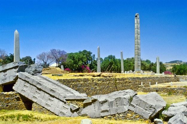 Stelle w Axum w Etiopii /123/RF PICSEL