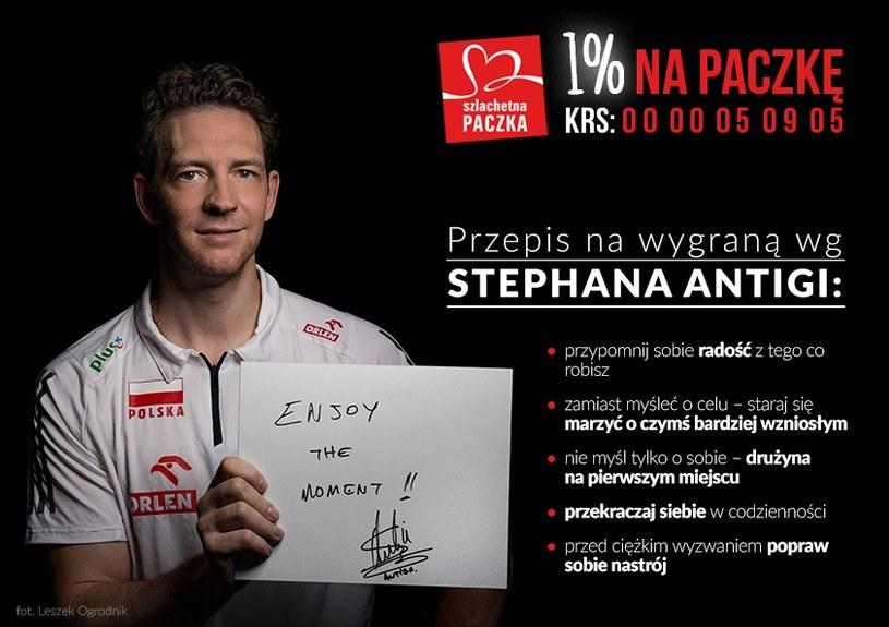Stephane Antiga i jego recepta na wygrywanie /INTERIA.PL