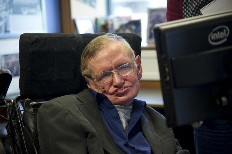 Stephen Hawking /AFP/AKPA