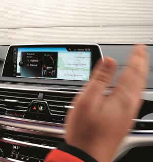 sterowanie gestami /Motor