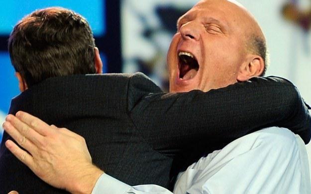 Steve Ballmer już nie może się doczekać utworzenia dwóch nowych zespołów /AFP