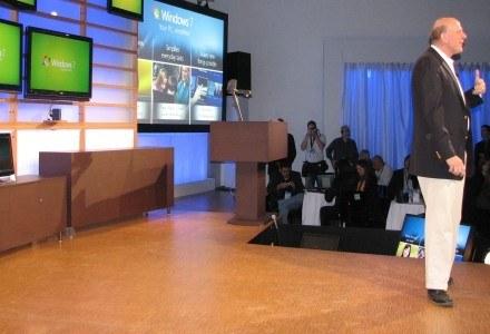 Steve Ballmer, szef Microsoft, oficjalnie daje zielone światło dla Windows 7 /INTERIA.PL