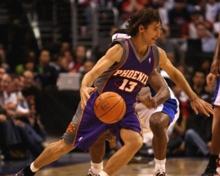 Steve Nash, rozgrywający Phoenix Suns /AFP