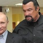Steven Seagal dostał od Władimira Putina rosyjski paszport
