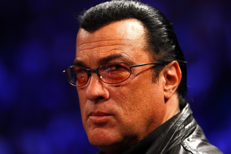 Steven Seagal /AFP