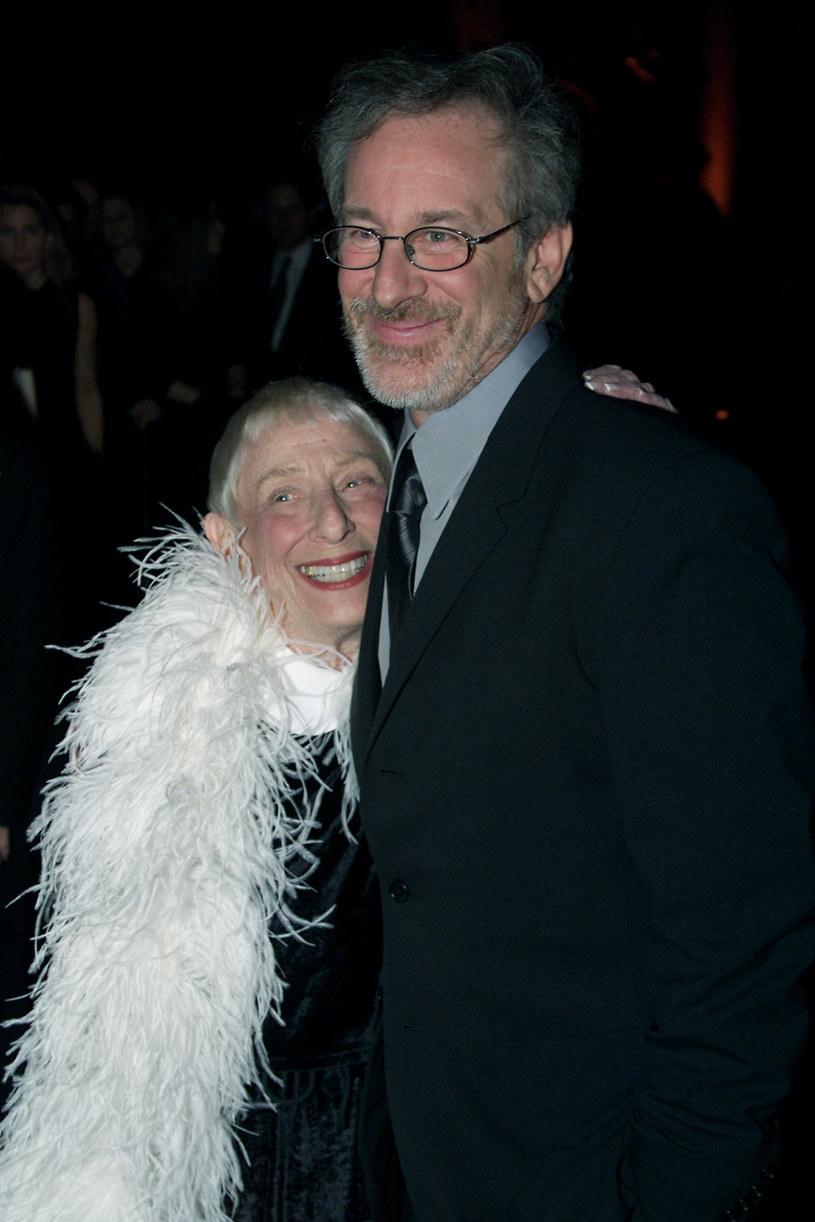 Steven Spielberg ze swoją matką Leah Adler /Getty Images