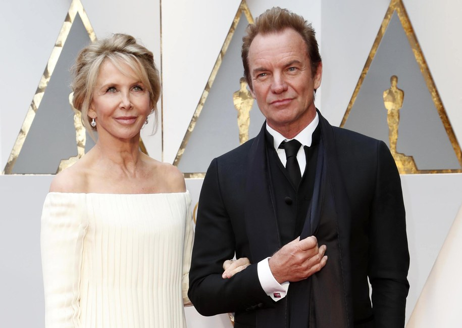 Sting i Trudie Styler /MIKE NELSON /PAP/EPA