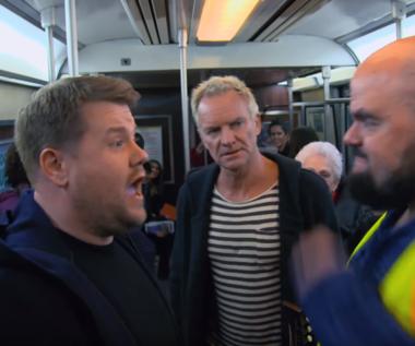 Sting, Shaggy i James Corden w metrze. Najgorsze Carpool Karaoke w historii?