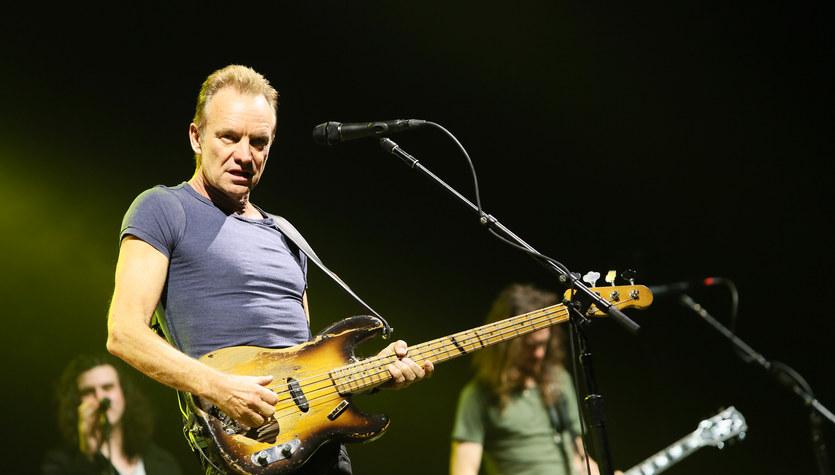 Sting w Warszawie - 27 marca 2017 r.