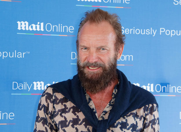 Sting /Philippe Farjon / VISUAL Press Agency /East News