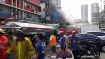 Sto osób uwięzionych w płonącym hotelu na Filipinach