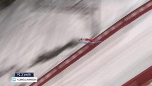 Stoch drugi, Kubacki trzeci w kwalifikacjach w Trondheim. Wideo