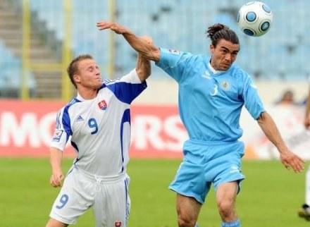 Stoch (z lewej) zagra w lidze holenderskiej /AFP