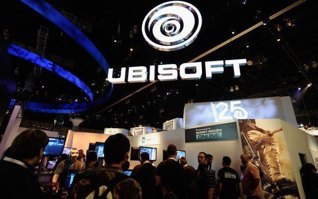 Stoisko Ubisoftu na targach E3 - zdjęcie /AFP
