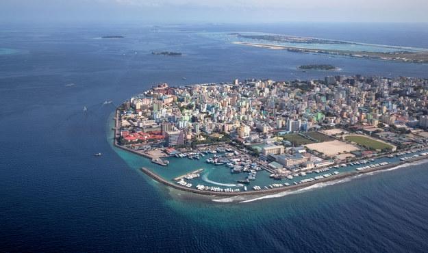 Stolica Malediwów - Male /123/RF PICSEL