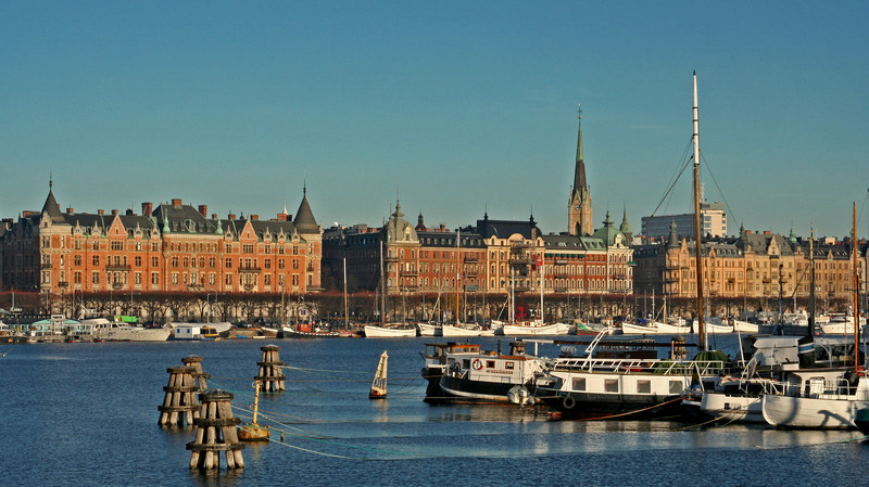 Stolica Szwecji od strony morza  /© Panthermedia