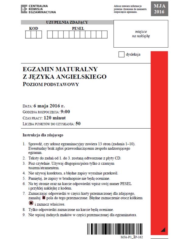 Str. 1 angielski /INTERIA.PL