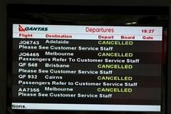 Strajk pracowników linii lotniczych Qantas