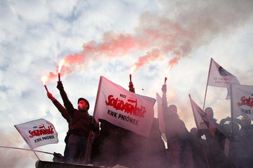 Strajk /Stanisław Rozpędzik /PAP