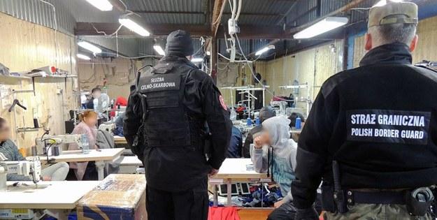 Straż Graniczna będzie badać sprawę pod kątem ofiar handlu ludźmi. Fot. Nadwiślański Oddział Straży Granicznej /&nbsp