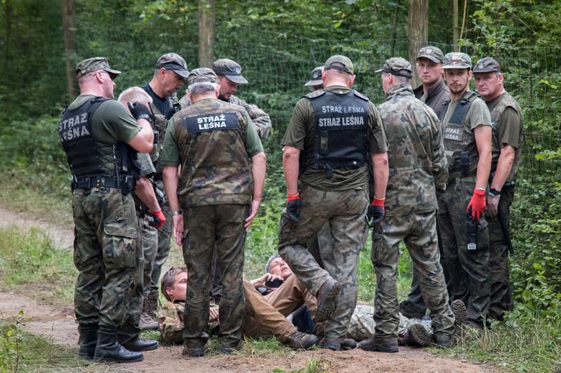 Straż Leśna kontra ekolodzy /Paweł Glogowski /Reporter