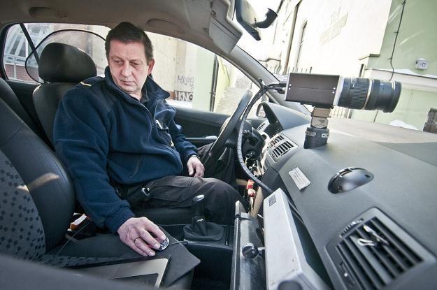 Straż miejska również chętnie zajmuje się pomiarem prędkości / Fot: Tymon Markowski /East News