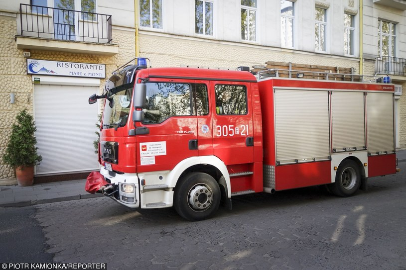Straż pożarna, zdj. ilustracyjne /Piotr Kamionka/REPORTER /East News