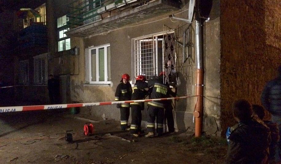 Strażacy na miejscu tragedii /Krzysztof Zasada, RMF FM /RMF FM