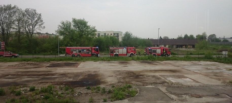 Strażacy na miejscu zdarzenia /Gorąca Linia RMF FM
