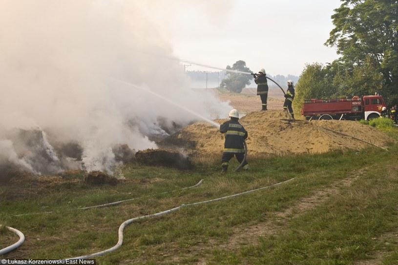 Strażacy - na nich zawsze można liczyć /Łukasz Korzeniowski /East News