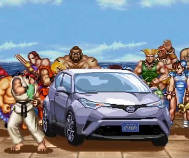 Street Fighter II x Toyota x Queen w jednej reklamie