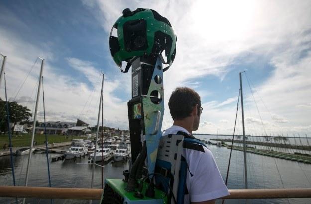 Street View Trekker w akcji na Mazurach /materiały prasowe